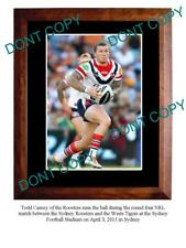 TODD CARNEY SYDNEY ROOSTERS STAR A3 PHOTO PRINT 1