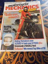 motorcycle mechanics/XZ550/XT550/XS250,400/XJ650 Turbo/Z1000J/Guzzi V50