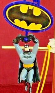 VINTAGE BATMAN SUPERMAN WONDER WOMAN FLASH DC COMICS SUBWAY FAST FOOD FIGURE SET
