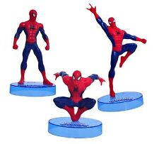 Ultimate Spiderman Hero Playset 3 Figure Cake Topper * USA SELLER* Toy Doll Set