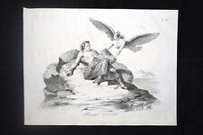 Incisione d'allegoria e satira Fine politica Vincenzo Gioberti Don Pirlone 1851