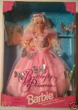 Barbie: 'Butterfly Princess In The Enchanted Garden' {Blonde Variant} 1994 MIP