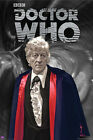 *NEW* Dr Who BBC 3rd Doctor Jon Pertwee Wall Poster 61cm x 91cm