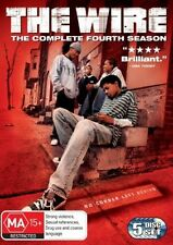 The Wire : Season 4 (DVD, 2008, 5-Disc Set) Genuine & unSealed (D114)(D154)