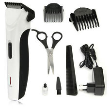Electric Rechargeable Low Noise Hair BEARD TRIMMER Clipper Haircut Removal Kit