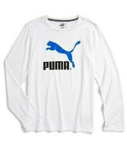 PUMA Boys' No 1 Performance Long Sleeve T- Shirt(Youth  7-17 Years)