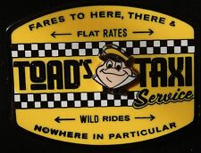 Disney Toad's Taxi Service Mr.Toad's Wild Ride June 2016 New Pin On Card Toad