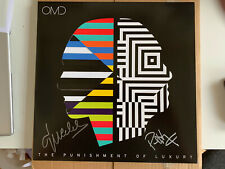 OMD, Orchestral Manoeuvres In The Dark, Punishment (2017) Yellow Vinyl - Signed
