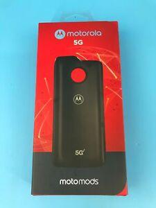 Black Motorola 5G Moto Mod for Moto Z3 Moto Z4 Verizon Brand New