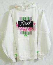 Vintage Flight Club New York Exclusive White FCNY Hoodie Sweatshirt size Medium
