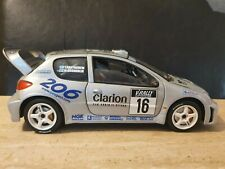 SOLIDO PEUGEOT 206 WRC MARCUS GRONHOLM 1/18