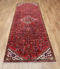 Persian Traditional Vintage Wool 267cm X75cm Oriental Rug Handmade Carpet Rugs