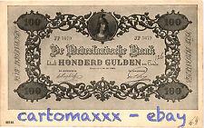 Banconote Paper Money Billets - Olanda Holland Nederland - 100 Gulden - B048
