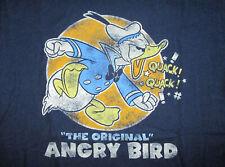 DONALD DUCK ORIGINAL ANGRY BIRD T SHIRT Walt Disney World Land Quack Adult LARGE