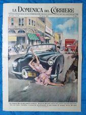 La Domenica del Corriere 28 agosto 1949 Margaret Mitchell - USA - Roucester