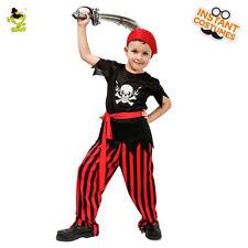 Niño Disfraces de pirata fresco para Halloween Fiesta arrogancia Viking trajes de juego de rol