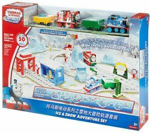 Thomas & Friends Ice & Snow Adventure Play Set Motorised Railway New Kids Toy
