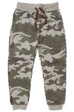 Boys Jog Pants Army Camouflage Baggy Jogging Bottoms Trousers 3 to 14 Years
