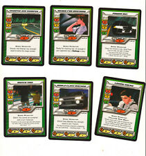 Initial D CCG 6 speed cards