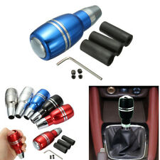 Car Auto Gear Shift Knob Shifter Lever Comfortable Fashion Style Blue Aluminum