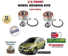 PARA SUZUKI SX4 S Cruzado 1.6 M16A 2013- > NUEVO 2x cojinete rueda delantera kit