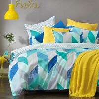 Bianca Dakota Teal Doona|Duvet|Quilt Cover in All Sizes