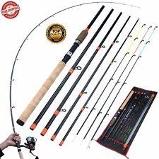 Feeder Fishing Rod Power Carbon Fiber Carp Pole Rock Travel 3M Lure Hard L M H
