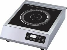 3500W STAINLESS STEEL COMMERCIAL INDUCTION COOKER HOT PLATE HEAVYDUTY OZ240V 15A