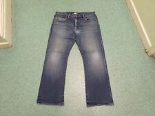 "Paul Smith Straight Jeans Waist 36"" Leg 33"" Faded Dark Blue Mens Jeans"