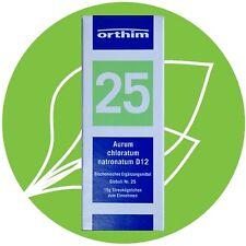 Schüßler Salz Nr.25 Aurum chloratum natronatum D12 Globuli PZN 09490773