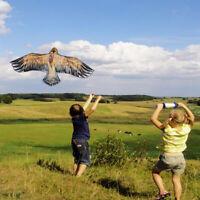 New Huge 1.5m Eagle Kite single line Novelty animal Kites toys Children's R3W3