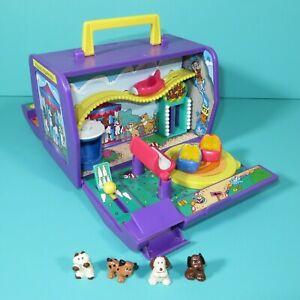 Pound Puppies Amusement Park Fun Mini Playset Puppy Kitty Figures Vintage Galoob