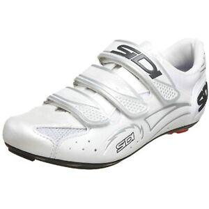Sidi Zephyr Women's Carbon Cycling Shoe, US 5.5/EU 37, White, 1250851