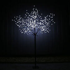 LED Lichterbaum Gartenbeleuchtung Aussen Baum Bäumchen Kirschbaum Blüten 600