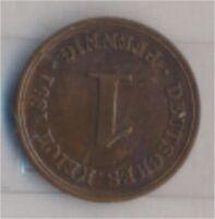 Deutsches Reich Jägernr: 10 1891 A vorzüglich Bronze 1891 1 Pfennig  (9157775