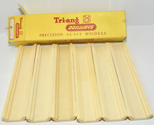 TRIANG TT BOXED TRACK FOUNDATIONS STRAIGHT T108  SIX IN TOTAL