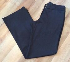 Sportsgirl Size 8 Black Ladies Pants Trousers Clubbing Cocktails Cruise