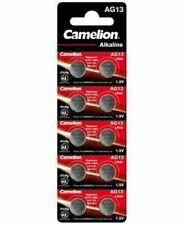 Camelion AG13 LR44 1,5V 138mAh Pile Bouton Alcaline (Blister de 10)