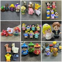 Lots Of Fisher Price Little People Farm Barn Animals Disney Princess Batman Toys