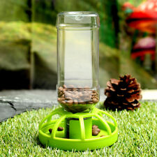 Reptile Cat Dog Pet Tortoise Automatic Food Drink Water Dispenser Feeder Bowl