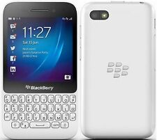 New BlackBerry Q5 8GB White Unlocked GSM Smartphone AT&T T-Mobile OS 10 5MP