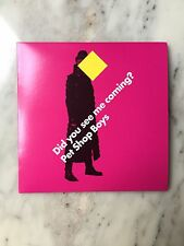 "PET SHOP BOYS 3-TRACK UK CD ""DID YOU SEE ME COMING ?"" NEVER PLAYED"