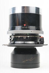Sale Linhof Sonnar 250mm f/5.6 4X5 w/ Lens Board