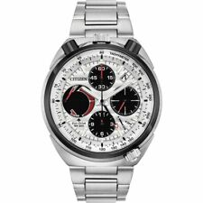 Citizen AV0071-54A Eco-drive Bullhead Alarm Chronograph Stainless Steel Watch