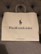 13932bf9b3 🎁New POLO RALPH LAUREN Beige Paper Gift Shopping Bag WxHxD 40x30.5x16cm  approx