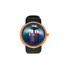Doctor Who Tardis Telephone Box Watch Quality Scratch Resistant Waterproof