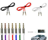 For Phone iPod 3.5mm Male to Male Car Aux Auxiliary Cord Stereo Audio Cable UK