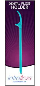 Introfloss Oral Best Dental Floss Holder Flosser Flossing Aid  Flossing Pick