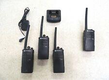 Lot of 4 Motorola RDV2020 2 Channel 2 Way Radios