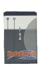 Bateria BL-4C para Nokia 6126, 6131, 6136, 6170, 6206, 6300, 6300i, 6301, 6600f